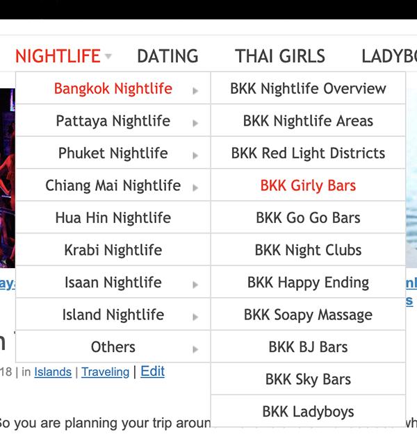 Thailand Redcat Navigation