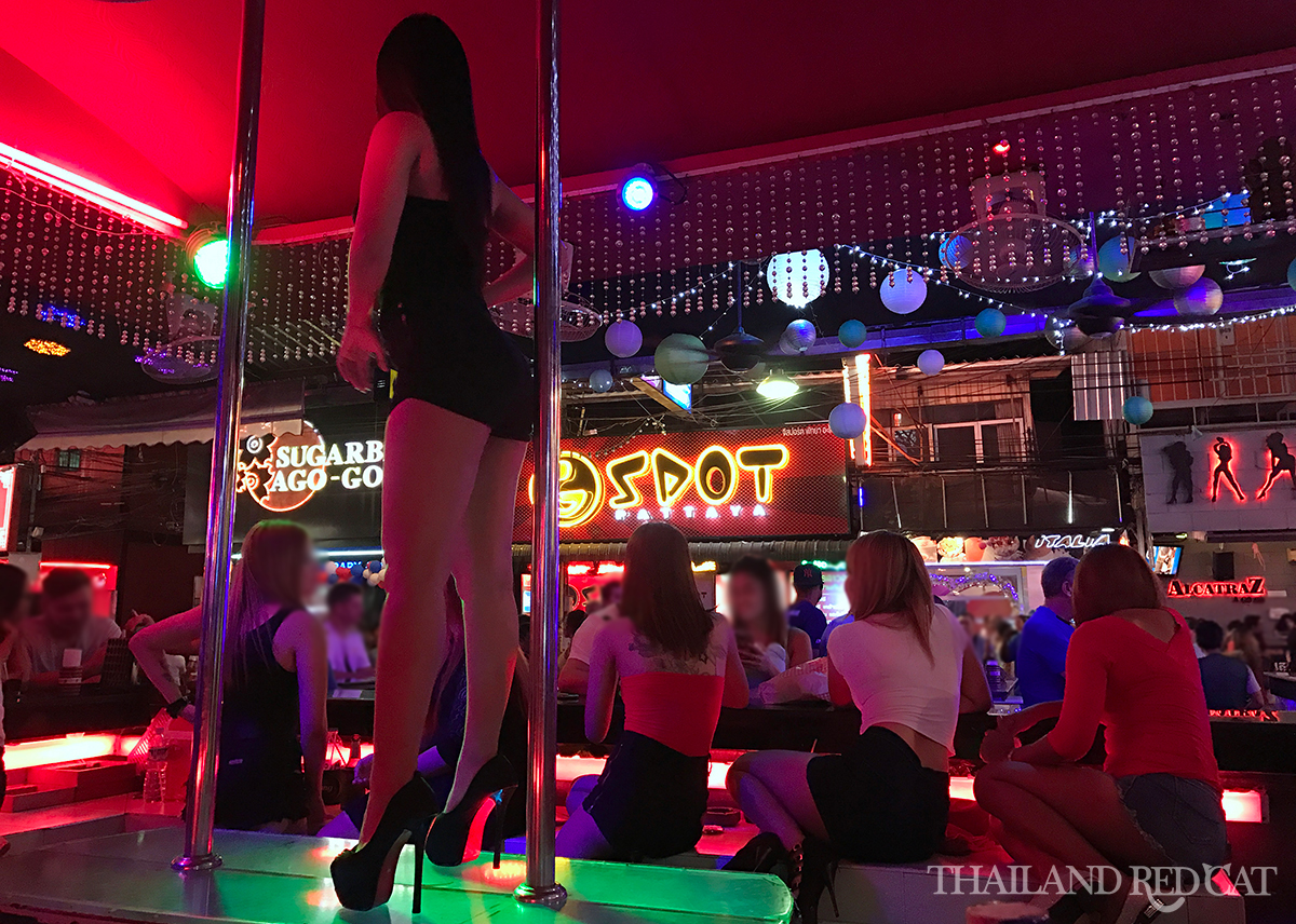 Walking Street Pattaya Girly Bars