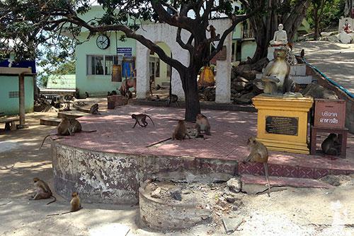 Wat Khao Takiap Hua Hin